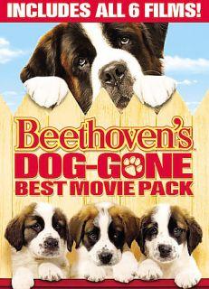 Beethovens Dog gone Best Movie Pack DVD, 2008, 3 Disc Set