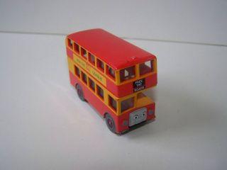 THOMAS Train & Friends Take Along n Play Diecast Metal Bulgy Bus FREE