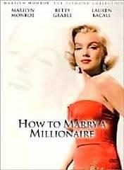 How to Marry a Millionaire DVD, 2001, Marilyn Monroe Diamond