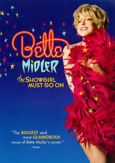 Bette Midler The Showgirl Must Go On DVD, 2011