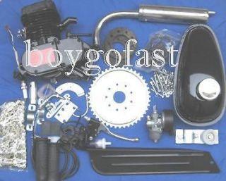 80cc BICYCLE motorized ENGINE KIT gas motor bike BLACK Z80BK