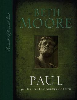 90 Days on His Journey of Faith Book By Beth Moore with Study Question