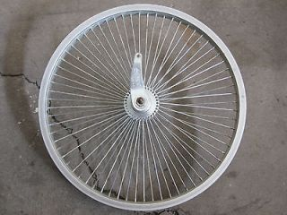 64 SPOKE 20 ALLOY REAR WHEEL LOWRIDER BIKE BICYCLE CRUISER BMX