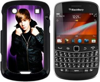 JUSTIN BIEBER hard case cover for blackberry bold 9900 9930 mobile