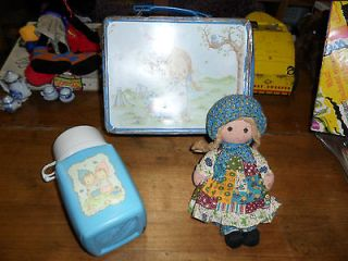 Betsy Clark   1975 Vintage Metal Lunch Box w/ Thermos & Doll