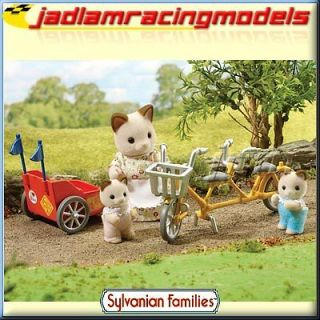 Tandem Bike and Baby Trailer   SYLVANIAN Families Figures 4784