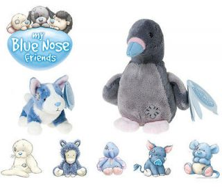 You My Blue Nose Friends Plush Teddy Bears Christmas / Birthday Gifts