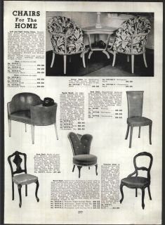 1951 AD Mid Century Telephone Gossip Bench Chair Corner Table