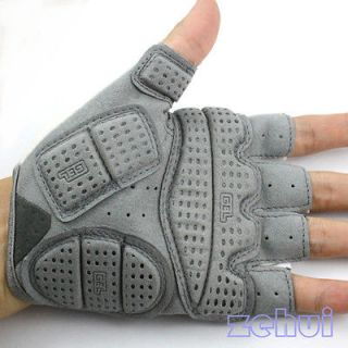 Finger Bicycle Bike Cycling Antiskid Gel Silicone Gloves Size L XL