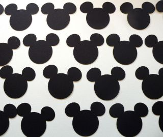 to 50pcs.) (1 to 5 tall) DISNEY CRICUT MICKEY MOUSE HEADS DIE