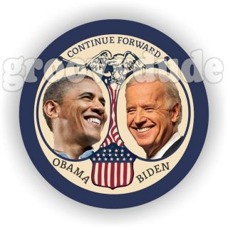 For President Barack Obama Joe Biden 2012 Forward Campaign Buttons Pin