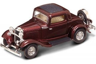New In Box  1/43 Scale 1932 FORD 3 Window Coupe for MTH,Lionel & K