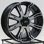 20 inch Black Wheels Rims Dodge Ram 1500 Truck Durango Dakota 5 Lug