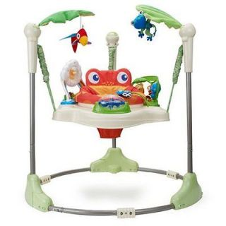 Fisher Price Rainforest Jungle Jumperoo Baby Jumper Activity Center