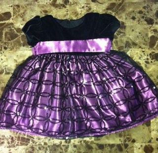 Baby Girl Cinderella Brand Special Occasion Dress W/Bloomers 12M EUC
