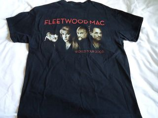 Fleetwood Mac Mens 2004 Tour Concert T Shirt Size Medium