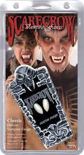 CUSTOM VAMPIRE FANGS  TEETH  ORIGINAL SIZE  TWILIGHT, TRUE BLOOD