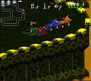 Rock n Roll Racing Nintendo Game Boy Advance, 2003