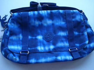 NEW! Kipling Imaraprint CROSS BODY TRAVEL BAG ~ in INKY ~ LARGE ~ $88