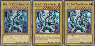 Seto Kaiba Deck #2   Blue Eyes White Dragon   Blade Knight   NM
