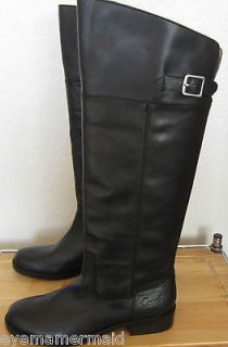 COACH Black Leather JOELE Tall Riding Knee Boots NEW Size 7.5 $348