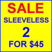 SALE 2 for $45 SLEEVELESS Cycling Jersey LARGE bicycle