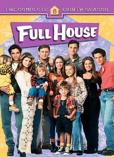 Full House The Complete Eighth Season DVD, 2007, 4 Disc Set, Digi Pack