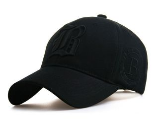 Black NEW BALL CAP Baseball caps TRUCKER HAT SUN VISOR