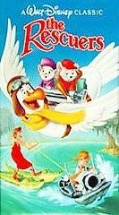 The Rescuers (VHS, 1992) New in Shrinkwrap Clamshell