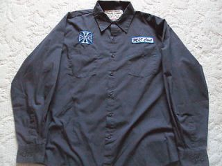 NICE WEST COAST CHOPPERS JESSE JAMES WORK WEAR SHIRT