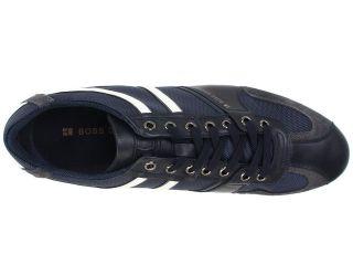 Hugo Boss Mens Simbad 2 Black Navy Blue Fashion Sneakers Shoes Kicks