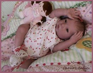 20 inch Vinyl Doll Kit Peach Bountiful Baby HONEY by Donna RuBert 3050