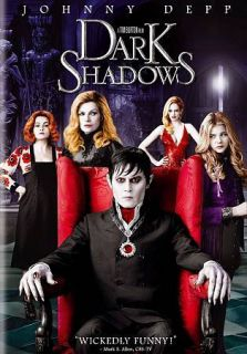 Dark Shadows (2012,DVD) Helena Bonham Carter+Michelle Pfeiffer+Johnny