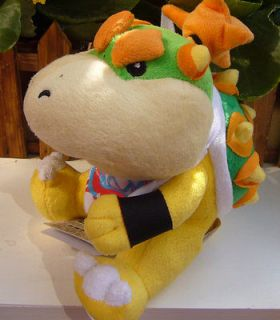 New Super Mario Bowser JR. Plush Doll Toy 8 Collectible FIGURES