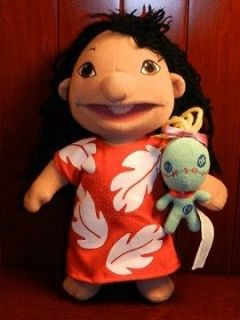 LILO & STITCH SCRUMP Plush Doll Figure Stuffed Animal Toy Disney