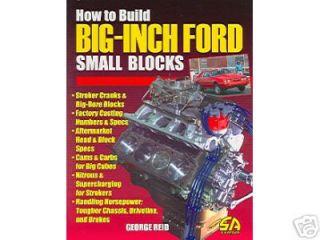 289, 302 BOSS ,302 ,351 BUILD BIG INCH FORD SMALL BLOCK