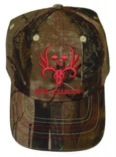 Bone Collector Ladies Pink Antler Skull and Camo Cap Deer Hunting HAT