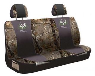 BONE COLLECTOR AND REALTREE UNIVERSAL BENCH SEAT COVER   TRUCK, AUTO