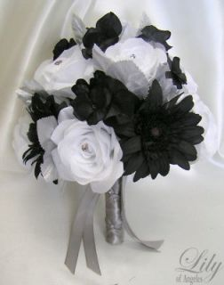 Newly listed 17pcs Wedding Bridal Bouquet Decoration Package Bride