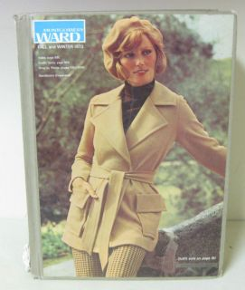 1973 FALL & WINTER MONTGOMERY WARD CATALOG HARDCOVER