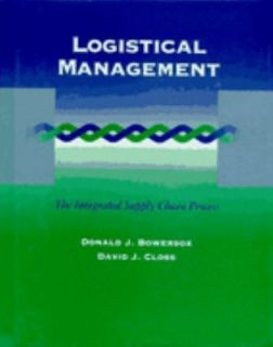 Logistical Management The Integrated Supply Chain Process by David J