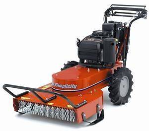 Simplicity Brush Mower Briggs & Stratton 12.5 HP ES (25) GM25125BS