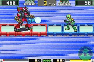 Mega Man Battle Chip Challenge Nintendo Game Boy Advance, 2004