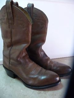 Mens ARIAT leather cowboy western boots 9.5 D