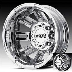 17 inch moto metal bright pvd dually wheels rims 8x200 2005 ^ ford