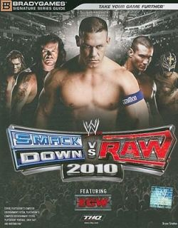 vs. Raw 2010 by THQ Staff and Brady Games Staff 2009, Paperback