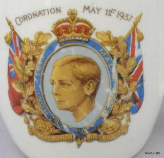 MUG UK ROYALTY Edward VIII CORONATION 1937 never was