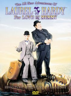 All New Adventures of Laurel and Hardy For Love or Mummy DVD, 2003