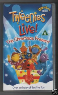 TWEENIES LIVE! The Christmas Present VHS NEW SEALED BBC