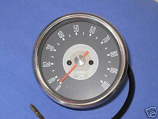 grey face Smiths copy 41 ratio tach gauge Triumph Norton BSA gray